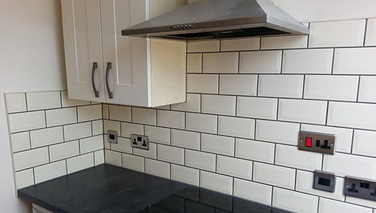 kitchen tiling by Kevin Squire Bournemouth